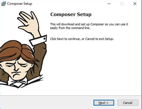 yii composer tutorial how to install and use composer