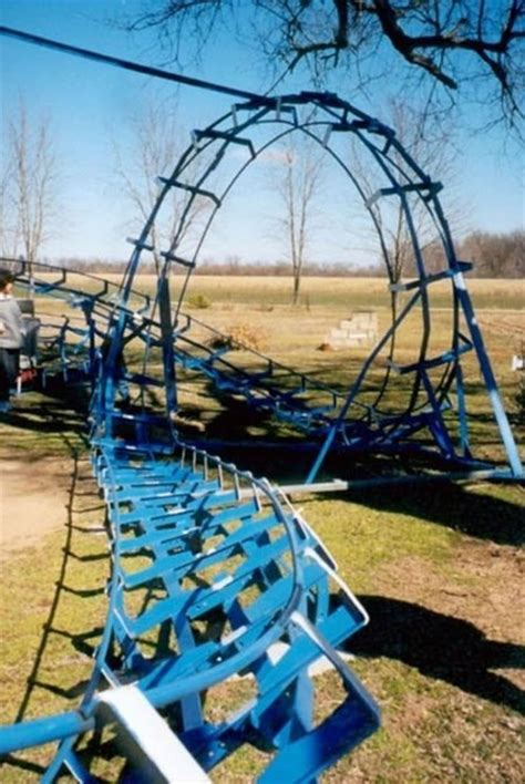 diy backyard roller coaster diy backyard roller coaster does 360 176 loop 171 outdoor games