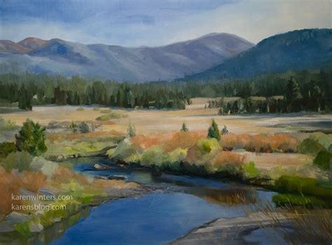 Landscape Artwork For Sale Carson River California Landscape Painting For Sale