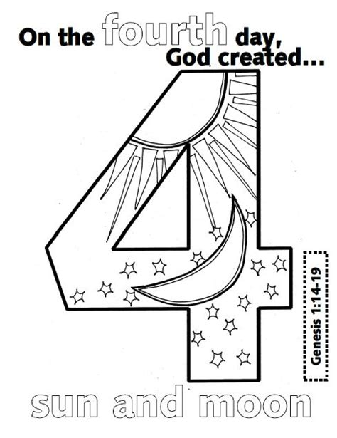 creation coloring pages for kindergarten gods creation coloring pages day 2 creation day 3
