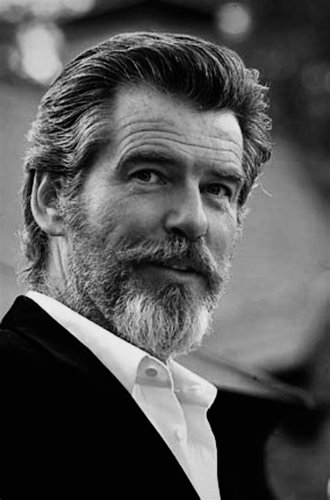 actor with long white beard pierce brosnan celebrity pinterest pierce brosnan