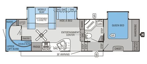 5th wheel floor plans 2014 eagle fifth wheels floorplans prices jayco inc