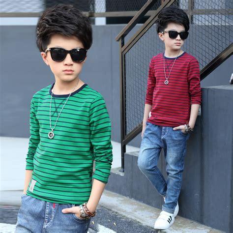 8 10 Tahun Baju Kaos Anak Laki Laki Oshkosh Lengan Panjang 14 model baju anak laki laki umur tahun terbaru foto 2017