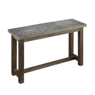 kmart sofa table home styles concrete chic console table home furniture