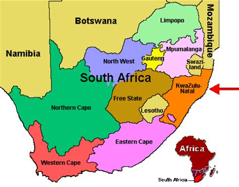 africa map location trophy safaris africa locations in the kwazulu
