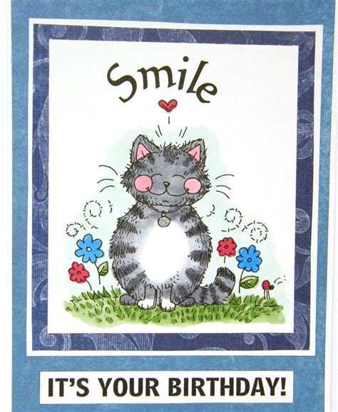 Send Free Birthday Card Free Ecards Cat Birthday Card Smile E Cards For Orkut