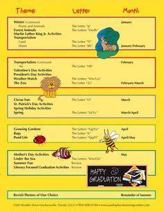 daycare curriculum on
