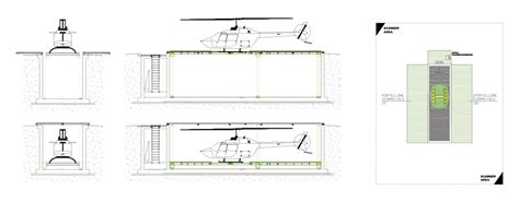 Underground Hangar For Helicopters Emip Design And