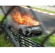 2016 Acura NSX Burns To The Ground During 'Ring Testing