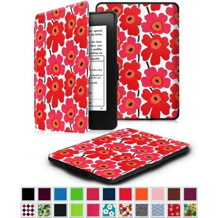 fintie slimshell case for amazon kindle paperwhite (fits