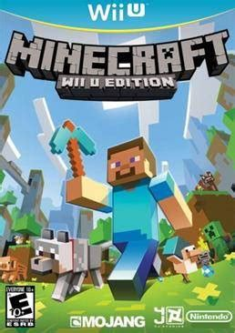 Wii U Minecraft Wii U Edition minecraft wii u edition is now available at retail stores gamesreviews