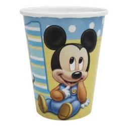 Mickey mouse 1st birthday cups 8 at birthday direct