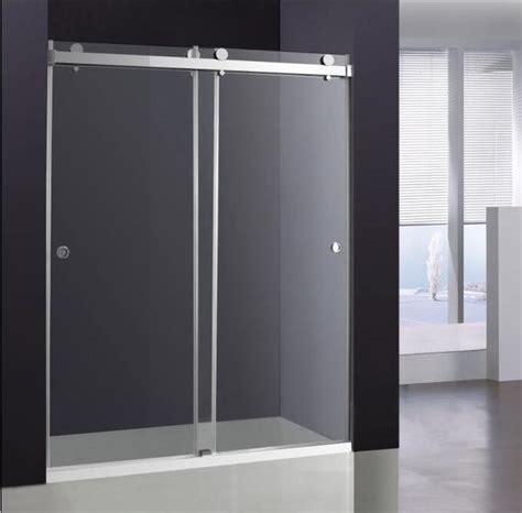 sliding glass shower door broadway vanities
