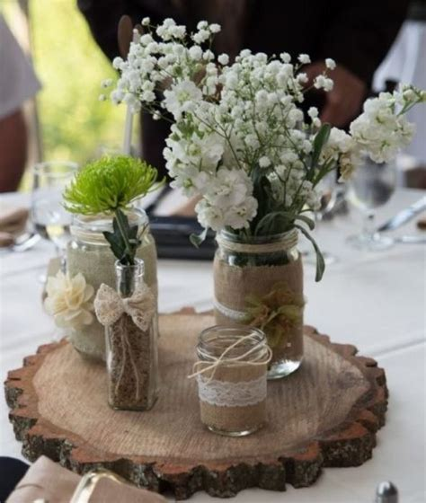 wedding table decoration ideas with jars jar diy wedding ideas designs