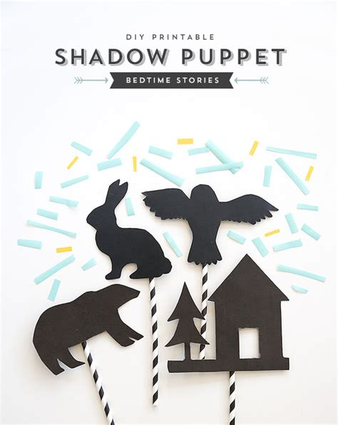 How To Make Shadow Puppets With Paper - paper straw tutorials u create