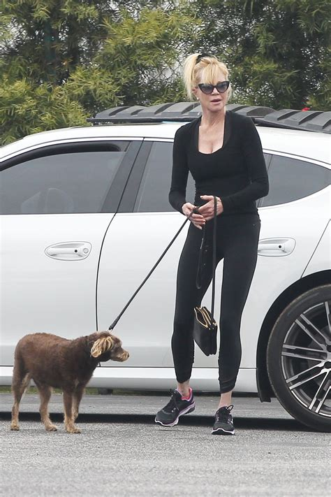 when to take puppy to vet melanie griffith take to vet clinic in los angeles 05 30 2017 hawtcelebs