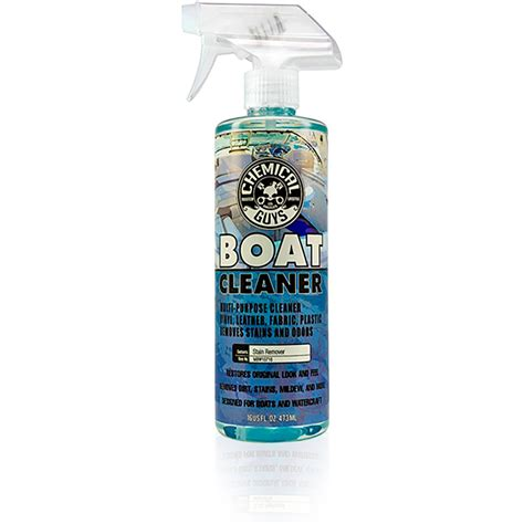 Cleaning Marine Vinyl Upholstery by Chemical Guys Marine Fabric And Vinyl Cleaner