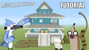 Show House Minecraft Tutorial How To Make The Quot Regular Show Quot House