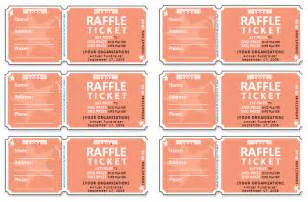 draw tickets template free free raffle ticket templates for word templates