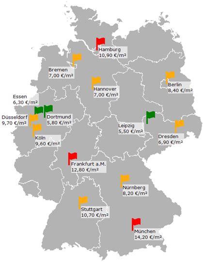 wohnung mieten deutschland mietbarometer in deutschen gro 223 st 228 dten stabilisieren sich