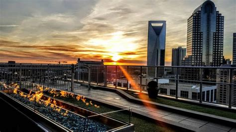 top bars in charlotte nc the best rooftop bar in north carolina is fahrenheit charlotte
