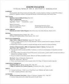 sle resume for college student 10 exles in word pdf