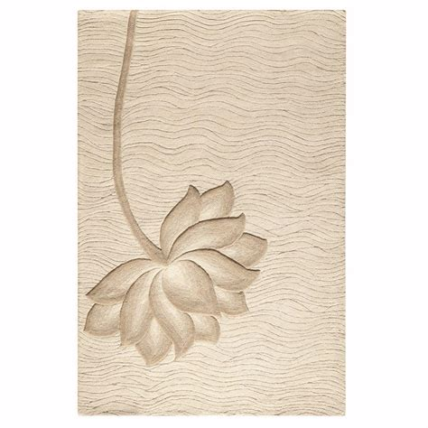 home decorators collection tufted white 8 ft x home decorators collection blooms white and beige 8 ft x 11 ft area rug 0259830410 the home