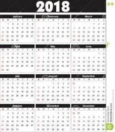 Kalendár Na 2018 El Calendario 2018 Adentro Se Puede Convertir En Cualquier