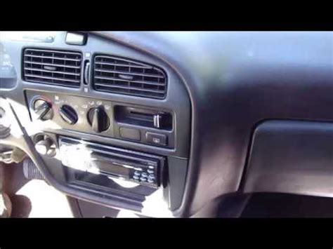 how to replace radio toyota camry youtube