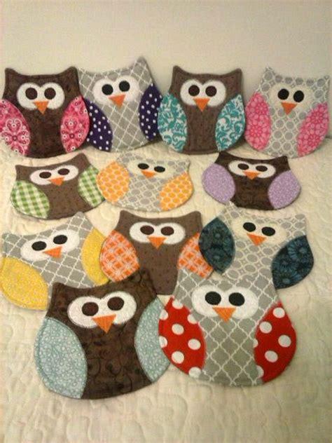 owl rug owl mug rug owl coaster mug rug coasters mug rugs
