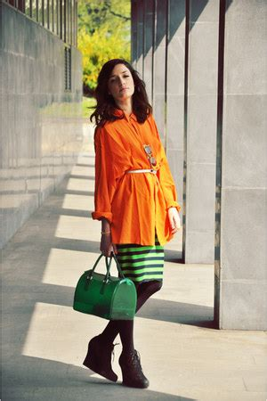 New Arrivall Metrochic Basic Bag Inspired By Furla carrot orange cotton orange comme des garcons shirts
