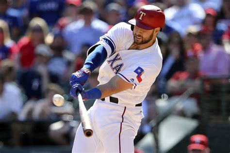 las vegan joey gallo fills void at third base for rangers