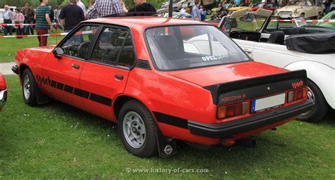 opel ascona sport opel ascona b 2 0e sport 4door sedan http www powerful