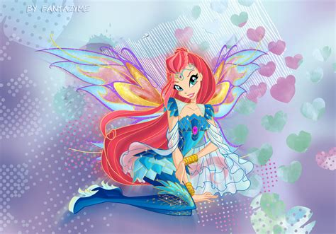 painting winx club winx club bloom bloomix by fantazyme on deviantart