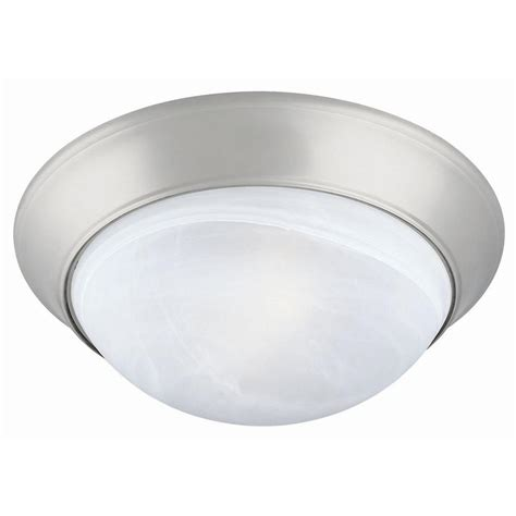 A Guide To Where Nickel Ceiling Lights Best Match Warisan Lighting Lithonia Lighting Futra 2 Light Brushed Nickel Fluorescent Ceiling Light 10813 Bn The Home Depot