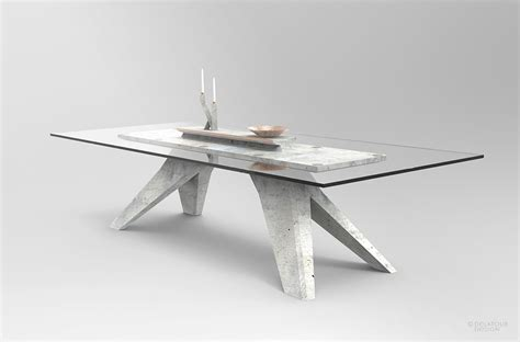 Lightweight Concrete Furniture Collection for Modern Interiors