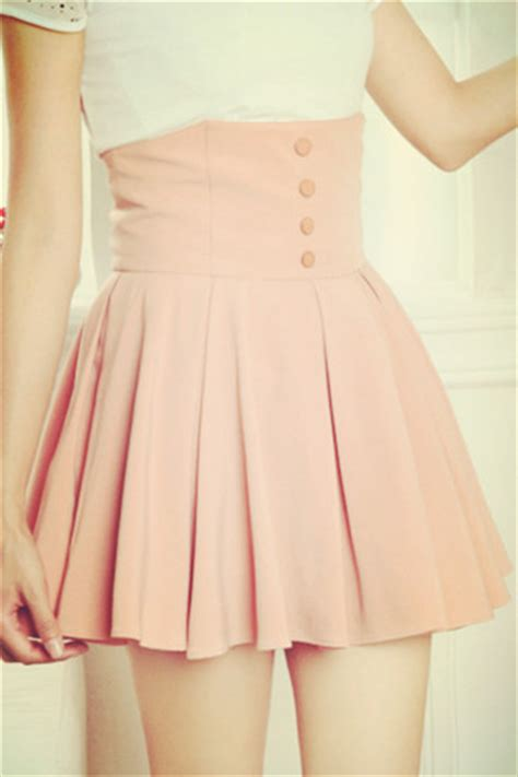 pastel pink pleated skirt shop for pastel pink pleated skirt on wheretoget