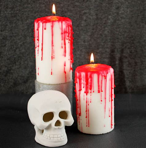 Diy Bloody Candles by Diy Horror Candles Michele