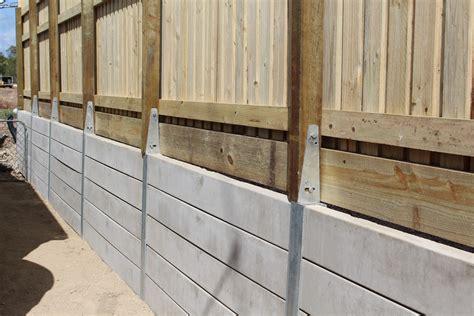 pioneer smooth grey concrete sleeper retaining wall