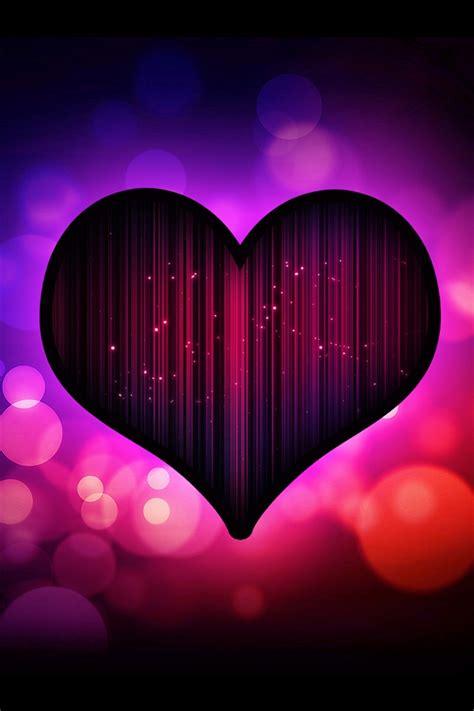 oscuro amor corazon purpura iphone xgs fondos