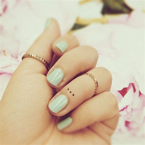 3 dot tattoo on hand finger dots best ideas designs