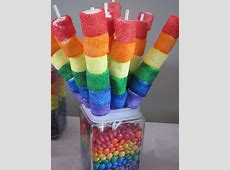 Rainbow Marshmallow Kabobs | Zoey's 6th B'day | Candy ... Luau Food Ideas For Party