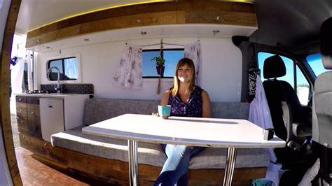 Camper Remodel Ideas by 4x4 Sprinter Van Conversion Full Camper Van Tour