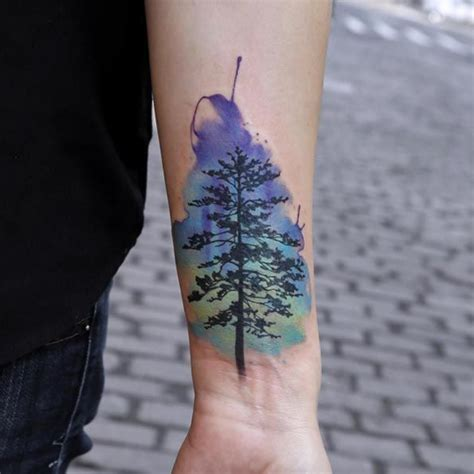 40 unique forearm tattoos for men with style watercolor