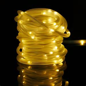 33ft solar rope lights waterproof outdoor rope lights le 174