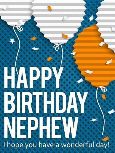 Birthday Card For Nephew What To Write