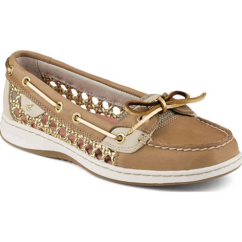 sperry top sider angelfish woven boat shoe