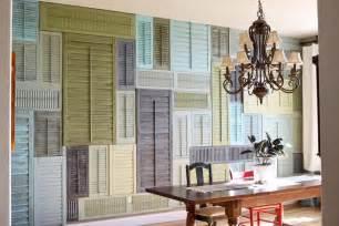 wall shutter decor greene acres hobby farm diy shutter inspirations 28 ways