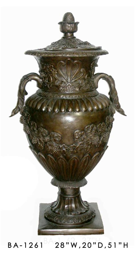 Planter Urns Cheap by Bronze Planters Urns Bronze Discount Statues Fountains