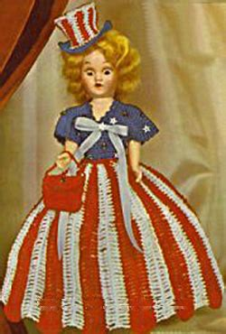 craft usa doll miss usa doll dress free crafts